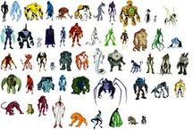 ben 10 original,force,ultimate and omniverse aliens