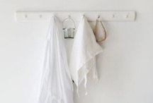 WHITE ON WHITE / White is a strong colour - as fierce as red, definitinive as black - it says