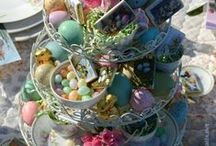 Easter / Inspiration....home decor, crafts, food and more.