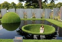 Garden Inspirations / Inspiring ideas that will help give you that creative zest you may need for your new garden, pond or water feature..