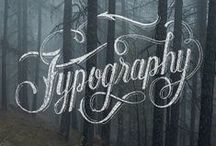 Graphic design typography etc... / by .