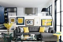 Playing With Colour! / Home decor ideas with bright colours.