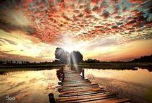 BELLE EST LA NATURE / superbes paysages cadres merveilleux