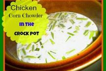 Nothing Like a Warm Bowl of Soup / All types of recipes for delicious soups and bread bowls.