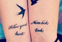 Best friend tattoo ❤️ / Dit bord gaat over tattoo's die je met je beste vriend/vriendin kan laten zetten !