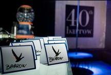 """""""BARROW 40TH"""" / Festa per i 40 anni di BARROW"""