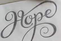 Typography + Lettering
