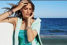 Get Set For Summer | Escape to Paradise / Summer Introductions of PANDORA charms & jewelry. Let summer sweep you off your feet with glamorous renditions of an exotic ocean paradise.