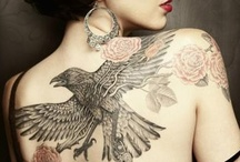 Tattoos I Like / Some, but not all, of these tats have some connection to writing. I'm always on the verge of getting a tat, but can never quite seem to commit. (Scratch that: Got mine August, 2015!)