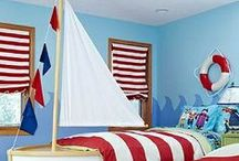 Kids Bedrooms / Kids bedrooms are a terrific place for playing around with color. Children love to have bright, bold and uniquely colored rooms. It reflects the liveliness of their nature.