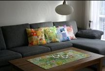 Zewnice pillows and table runners / Tablerunner, pillows