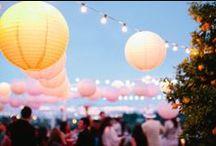zauberhafte Sommerfeste / Dekorationen zu Sommer