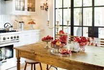 ::kitchen inspiration:: / The heart of the home
