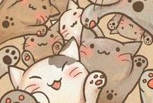 Cats, cats everywhere <3 :3