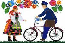 Łowicki folklor / Motywy nawiązujące do łowickich tradycji