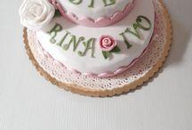 Le mie torte / Torte in pasta di zucchero cake design
