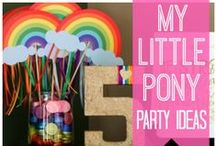 Spatzenkinder und ihre ersten Partys / Die Geburtstage der kleinen Kinder sind etwas ganz besonderes für die Mamis.