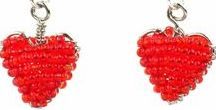 I ♥ Valentines Day / #ValentinesDay  #jewelry #Fairtrade #artisan #Crafts #beads #wire #gifts #holidays #hearts