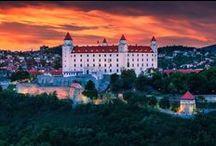 Slovensko, hlavné mesto - Bratislava / Domovina, krásne miesta, príroda, ľudia, zvyky, pamiatky, kultúra, kuchyňa...