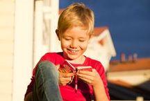 Oppi&ilo:n parissa viihdytään! / Tilannekuvia lapsista Oppi&ilo-tuotteiden parissa
