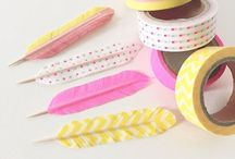 Decor Tape / There Are Literally TOOOO Many Things You Can Do With Washi Tape! -.- I want to stick it on my wall and write a quote or name or something! Lol