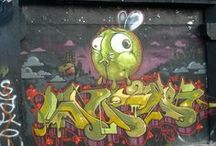 Street Art MTL / Graffiti founded in Montreal during winter 2007/08