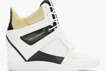 Wedged In / There seems to be no denying that the wedge has become the big sneaker of the year. What was started by Isabel Marant as a fashion statement has now caught on with the big sport brands like Nike, Puma and Reebok, as well as other designers such as Marc Jacobs and Junya Watanabe. Below are a few of our top picks for this Spring / Summer.
