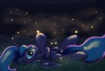 """It Was Under """"E""""!  / ~Luna is best princess. No person (or pony) is past redemption.~ / by Katie Williams"""