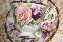Teacups & more / Taking tea is a pleasing experience, but when served in pretty china it is elevated to a mini-celebration of elegance bound by etiquette! / by Deann Murphy
