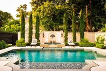 exterior spaces / yards, pools, & exteriors  / by maggie smith