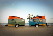 Into The Woods / You can't beat the old school camper style. From the original brands and new ones too... some things never go out of style.