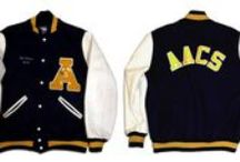 VARSITY STYLE / Its Go Team with Cool Letterman Jackets, Designer Jerseys, High School Gym Chic and more!
