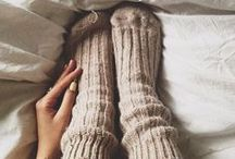 Knitting - mittens & socks