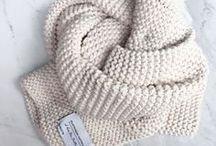 Knitting - beanies & scarves
