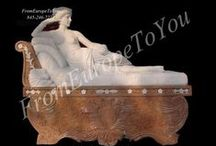 Statues at From Europe To you