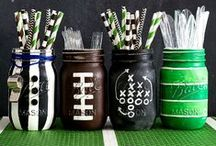 Game Day Decor / Fun party games and decor ideas for game day.