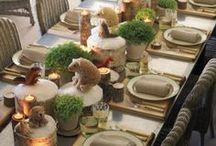 dekoracje stołu i nie tylko