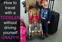Tips for Travelling with Kids / Tips and resources for travelling with babies, toddlers and children