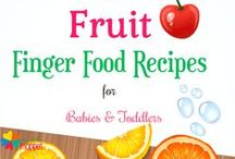 Finger Food Recipes  for babies and toddlers / Finger Food Recipes for Babies, Toddlers #BLW