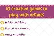 Play activities for Babies / Creative ways to engage babies with games