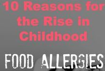 Allergy Friendly Recipes for kids / Recipes for kids with gluten intolerance, celiac disease, lactose intolerance and other allergies.Home remedies for allergies