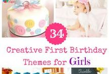 Girls Birthday Party Themes / Organizing a birthday party for girls takes tons of work , and selecting a perfect birthday party theme for girls is even more difficult. Check out the pins ranging from First Birthday party theme for girls till Teens Birthday party theme for girls