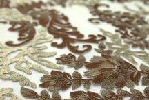 Bordados incríveis / Tules e bordados que você encontra em http://www.maximustecidos.com.br/