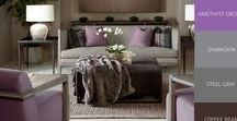 Fall Color Trends 2016 / A Furniture fashion show of current 2016 Fall color trends.