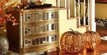 Fall Decor Ideas / Inspiration for creating warm and welcoming Fall decor for your home.
