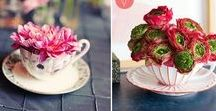 DIY Floral Arrangements / Get inspired and learn some basics for floral arrangements in your home.