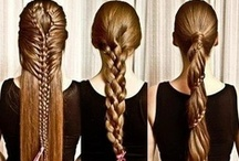 Braids and Hair / All about how to make braids in fast and easy way