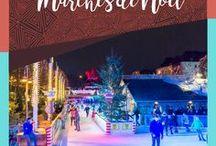 Marchés de Noël / Tableau collaboratif: Les plus beaux marchés de Noël autour du monde. Envie d'y participer? Écrivez-moi!