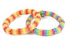 loom bandz - rainbow bandz / bracelets
