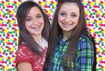 brooklyn and bailey / cute girls hairsyles